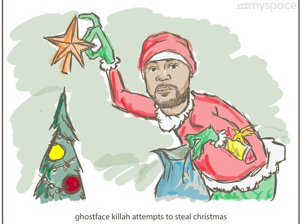 Hiphop artist Ghostface Killah